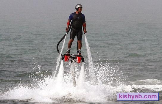 ورزشهای آبی در جزیره کیش /تصاویر