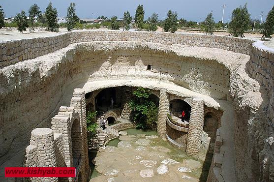 شهر زیرزمینی کاریز در کیش /تصاویر