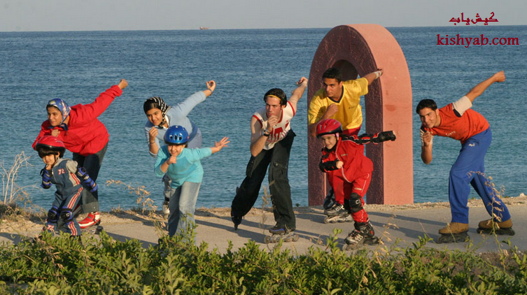 تصاویر دیدنی از اسکله بزرگ تفریحی در کیش