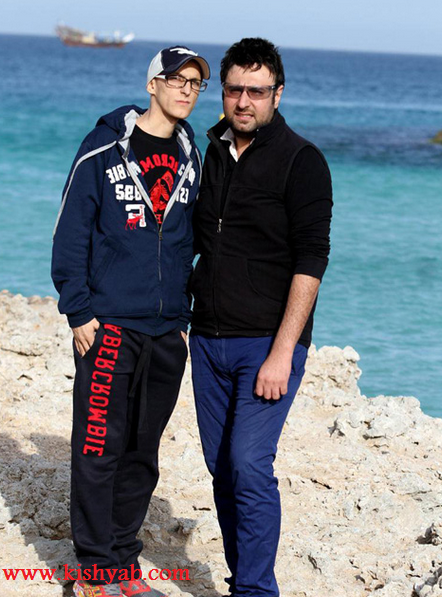 تصاویر بازیگران در جزیره کیش (2)