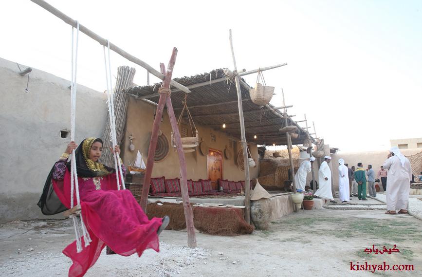 تصاویر دیدنی از خانه مردم شناسی بومیان در کیش