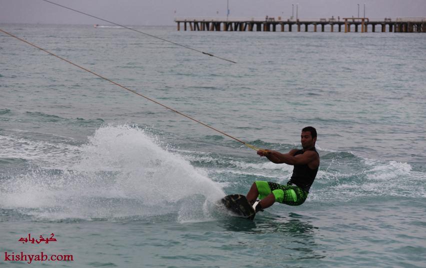 تفریحات هیجانانگیز دریایی در کیش /تصاویر