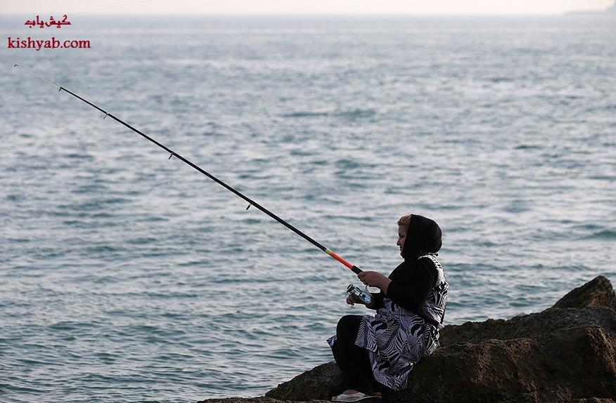 برگزاری جشنواره شاد و مفرح ماهیگیری در جزیره کیش /تصاویر