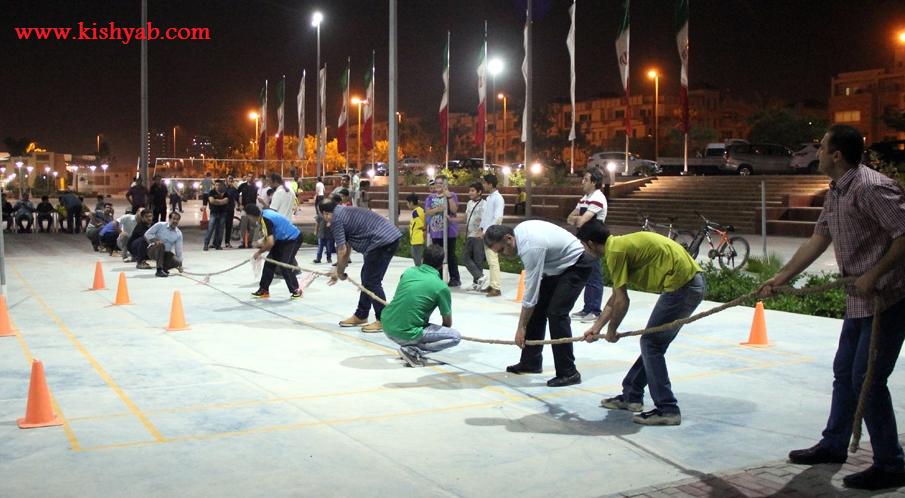 جشنواره طناب کشی در جزیره کیش /تصاویر