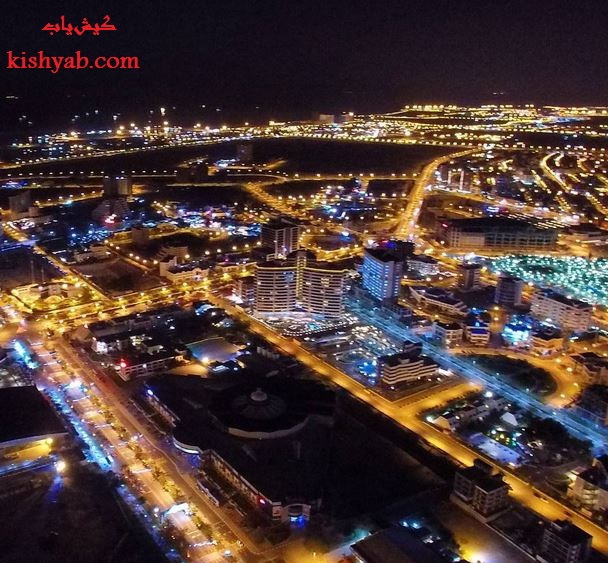 تصاویر هوایی جزیره کیش