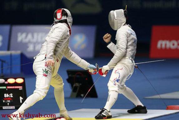 اردوی شمشیربازان المپیکی کشور در کیش