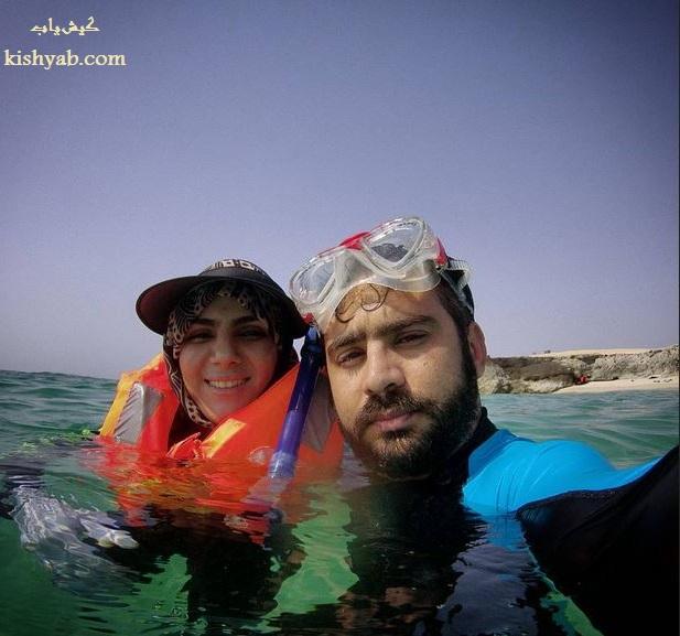 غواصی در آب های آرام جزیره کیش /تصاویر
