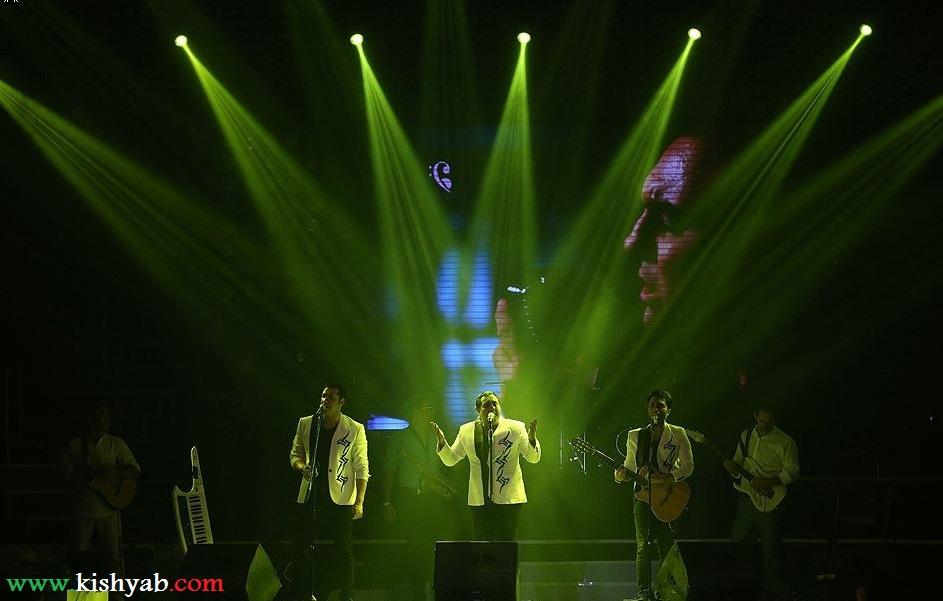 تصاویر کنسرت گروه سون در جشنواره تابستانی کیش