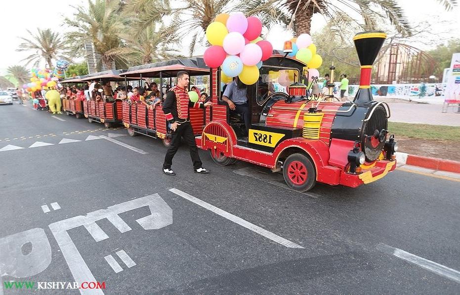 تصاویر کارناوال شادی در نوزدهمین جشنواره تابستانی کیش