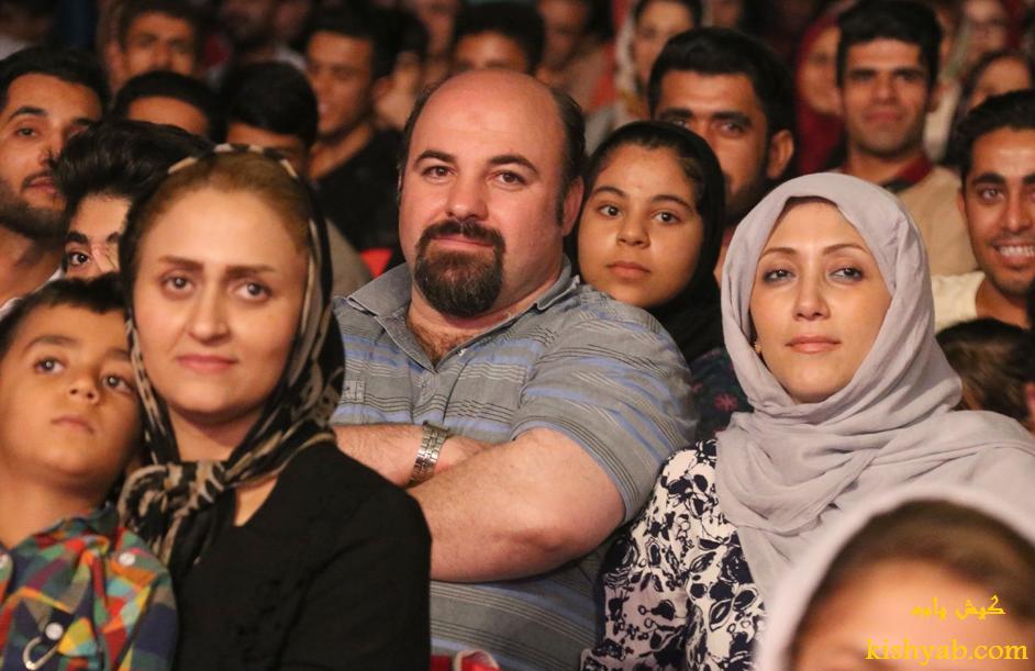 تماشاچیان جشنواره کیش