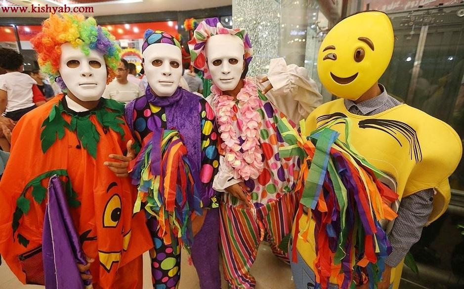 تصاویری از کارناوال شادی در جشنواره تابستانی کیش