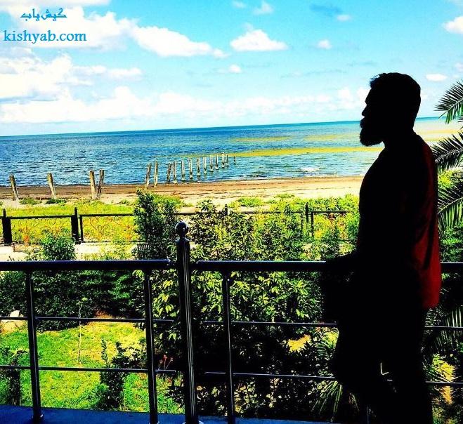 تصاویر زیبای علی زندوکیلی در جزیره کیش