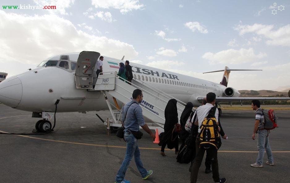 مسیر پروازی شاهرود کیش راه اندازی خواهد شد