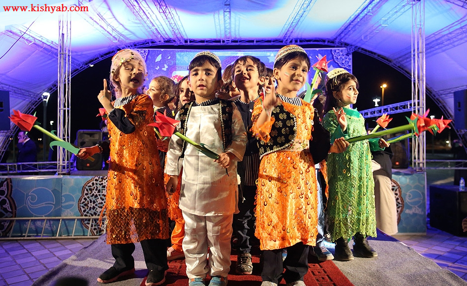 تصاویر جشنواره فرهنگی هنر بهار انقلاب در جزیره کیش