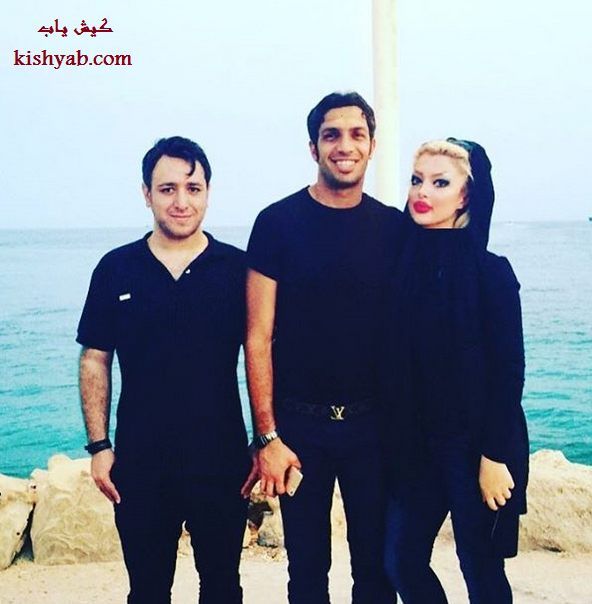 عکس جدید سپهر حیدری و همسرش در کیش