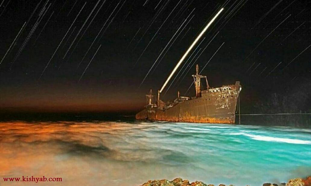 تصاویر دیدنی از دریای کیش