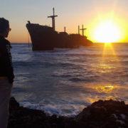 کشتی یونانی در آب های کیش